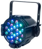 fari led rgbw dmx